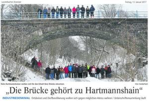 Artikel des Lauterbacher Anzeiger vom 13. Janauar 2017